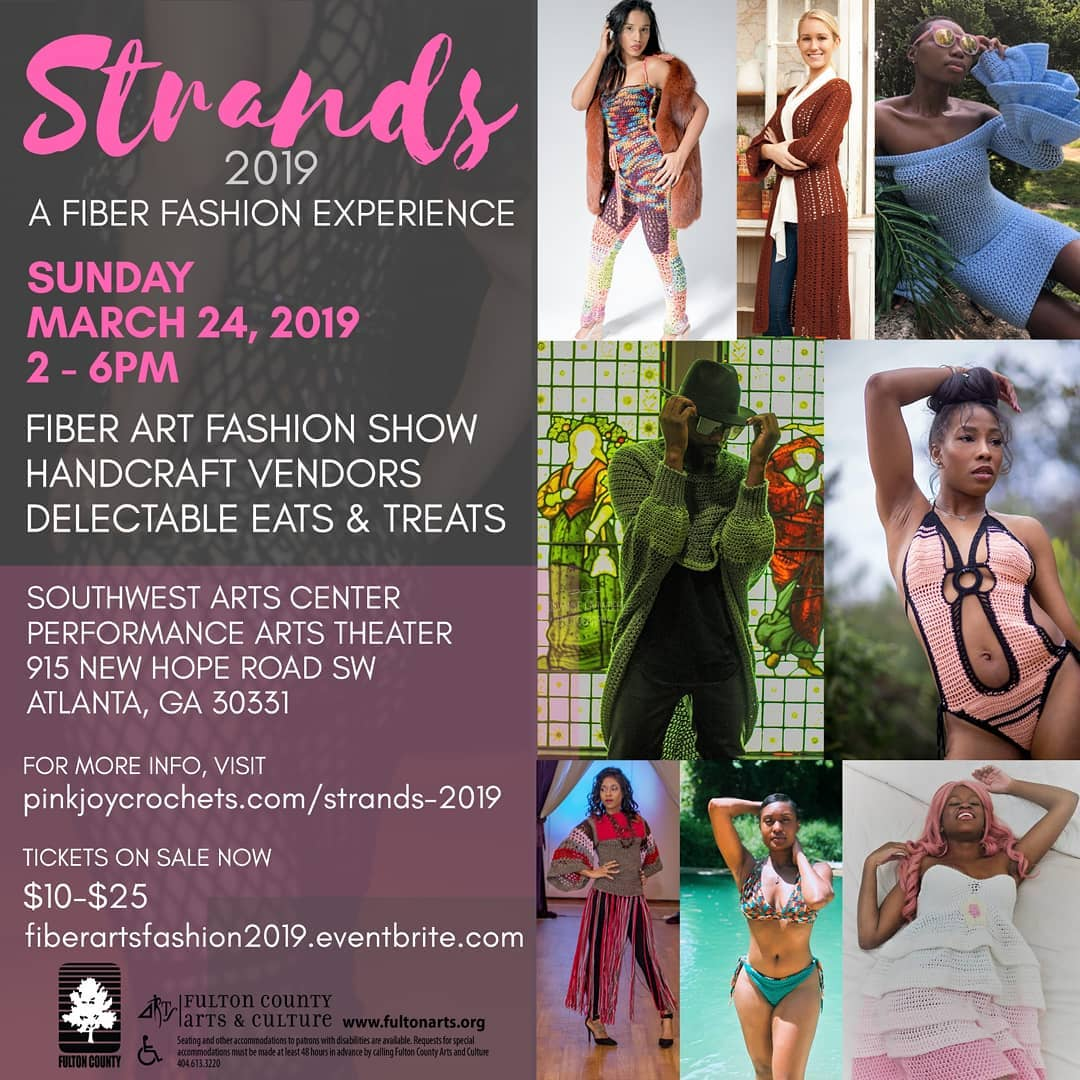 Have you shared Strands 2019 – A Fiber Fashion Showcase today? :) Feel free!  Oh! And tickets are on sale at fiberartsfashion2019.eventbrite.com