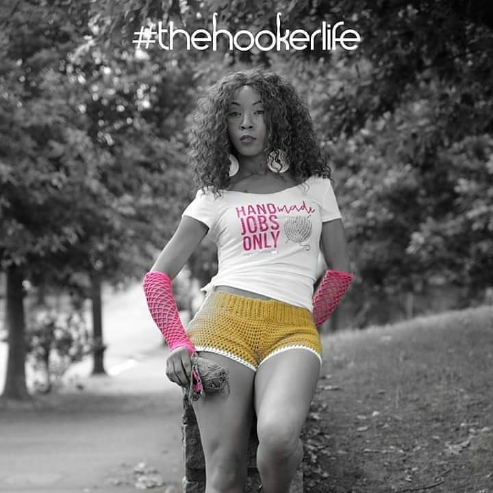 Reposted from @the.hookerlife –  HANDmade JOBS ONLY.  Tee by @the.hookerlife  Crochet by @aieret_handmade Crochet by @vanessakakes  Crochet by @pinkjoycrochets
