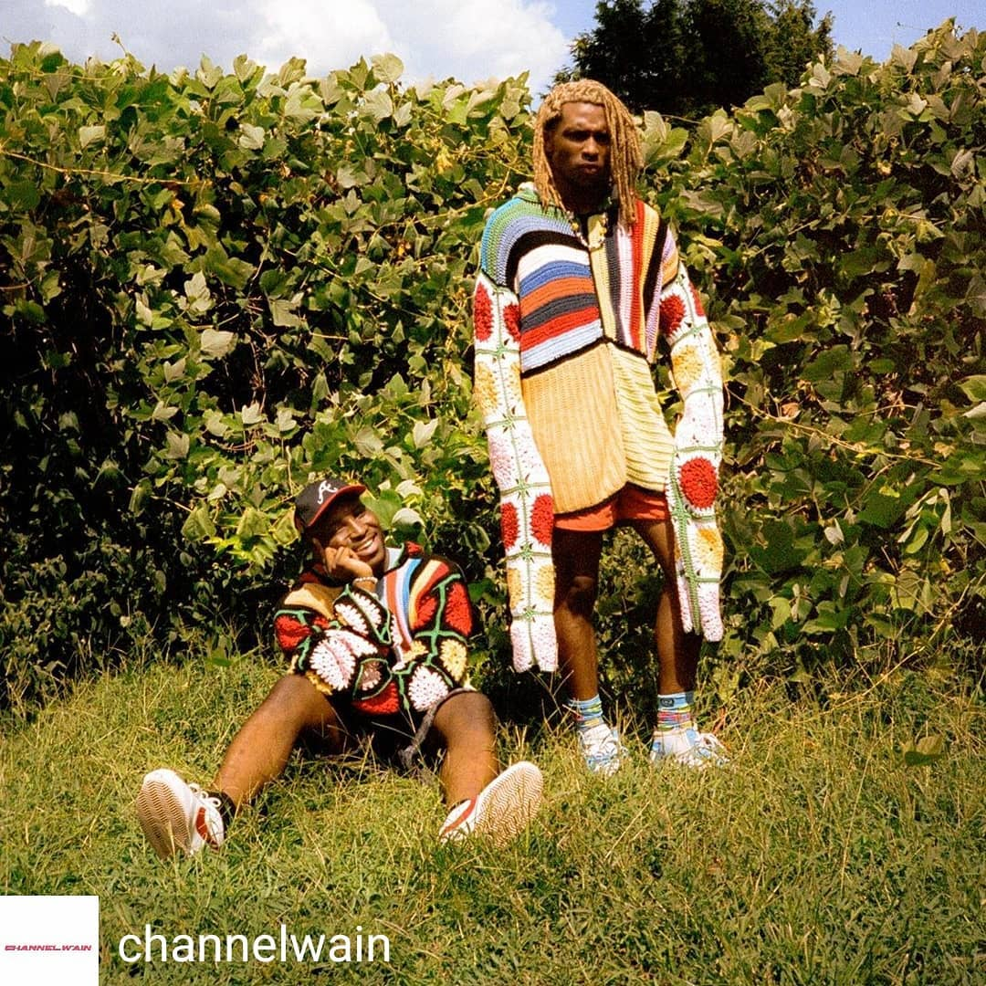 Sweaters by @pinkjoycrochets.  Reposted from @channelwain (@get_regrann) –  just like the Hardyz 📸: @twu9916