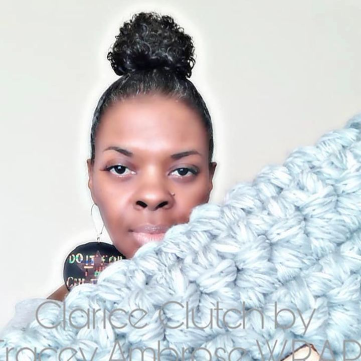 Tracey Ambrose of @tsawraps  is coming all the way from Southern California to showcase her fancy crochet wear at for the first time
